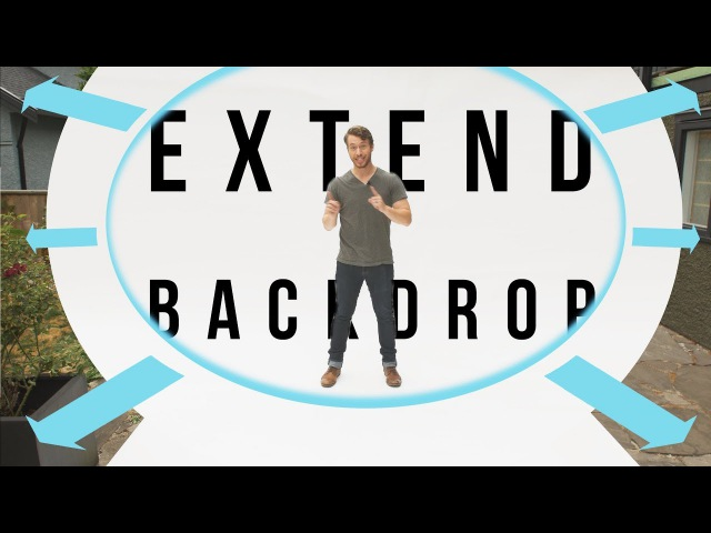 How To Extend Your Backdrop in Adobe After Effects | Tutorial