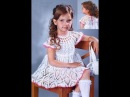 Детские Платья Крючком на 3 года 2018 Children's Dresses Crochet for 3 years Kinderkleider