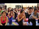 Simmons Hosts Blogilates Shares Healthy Tips