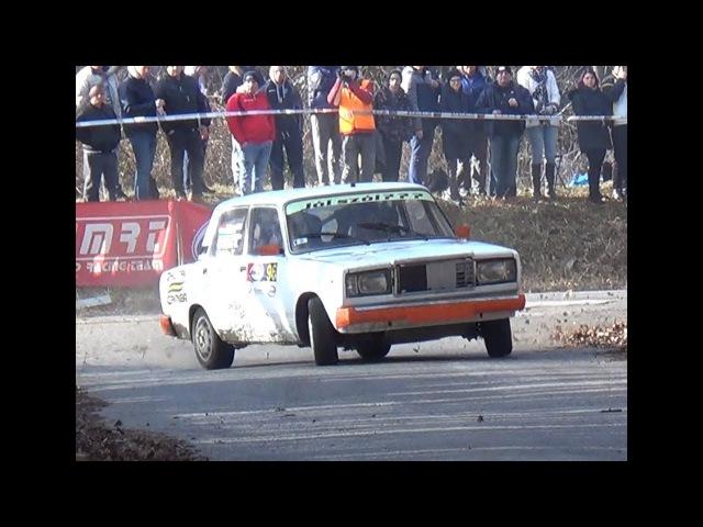 Kóka Tamás-Lada 2107 Rallye Sprint Gála 2017.-Lepold Sportvideo