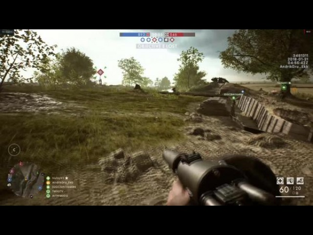 Battlefield 1 Apocalypse Под музыку из Блэйда