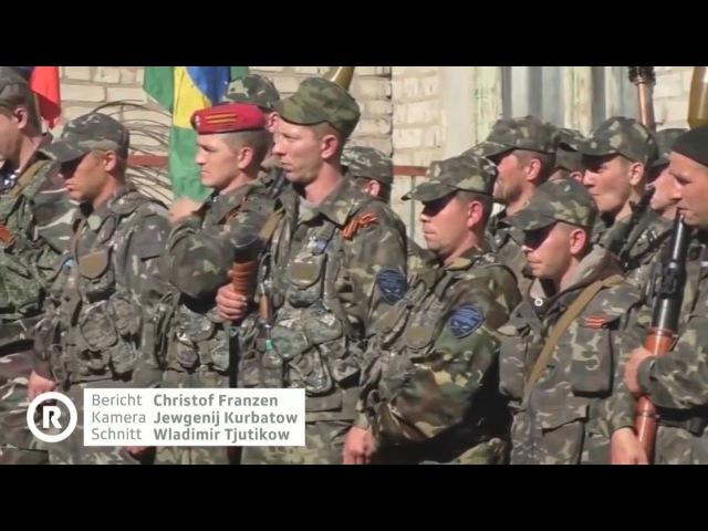 Швейцарское ТВ о путинской пропаганде и российских добровольцах на Донбассе