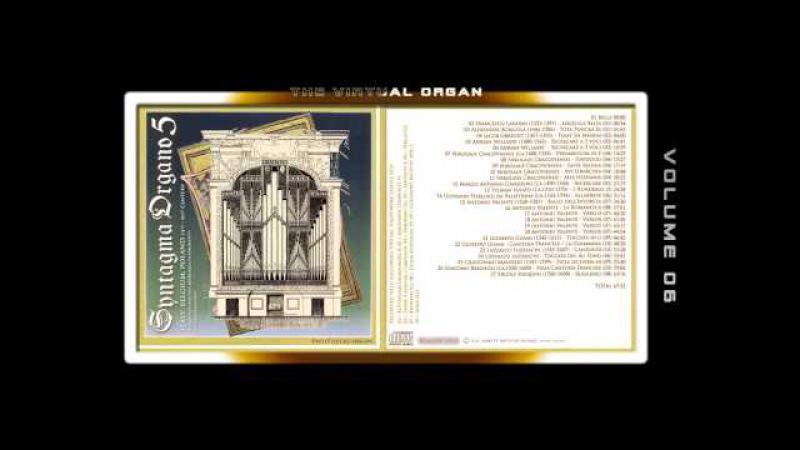 SYNTAGMA ORGANO 05 - Fred G. Pisecki, various organ Sample sets