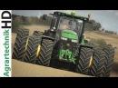 XXL Traktoren im Einsatz Fendt John Deere CaseIH uvm Best of Bodenbearbeitung 2017