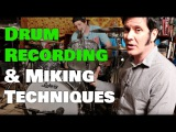 Drum Recording &amp Miking Techniques - Warren Huart Produce Like A Pro
