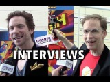 My Interviews w Troy Baker &amp James Arnold Taylor at LEGO DC COMICS SUPER HEROES THE FLASH Premiere