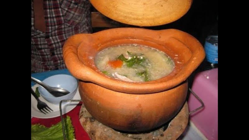 Паттайя Таиланд 2018 Буфет Тайский Ужин в Бунгало