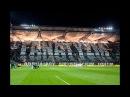 Oprawy podczas meczu Legia Górnik