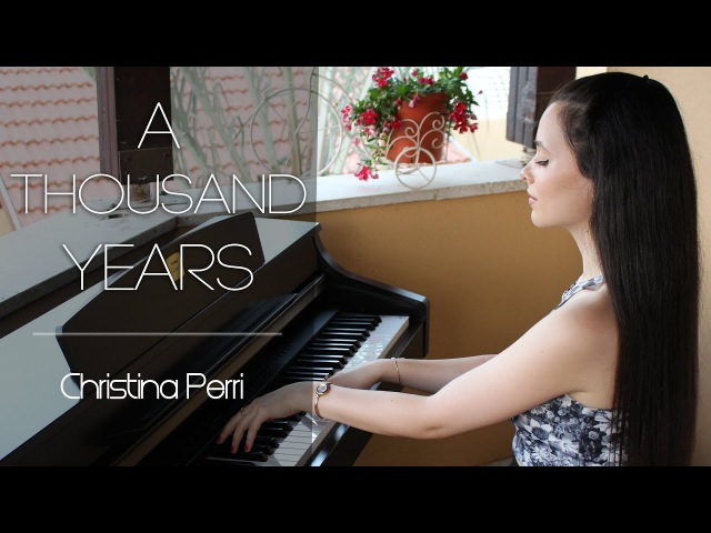 Christina Perri A Thousand Years Piano cover by Yuval Salomon