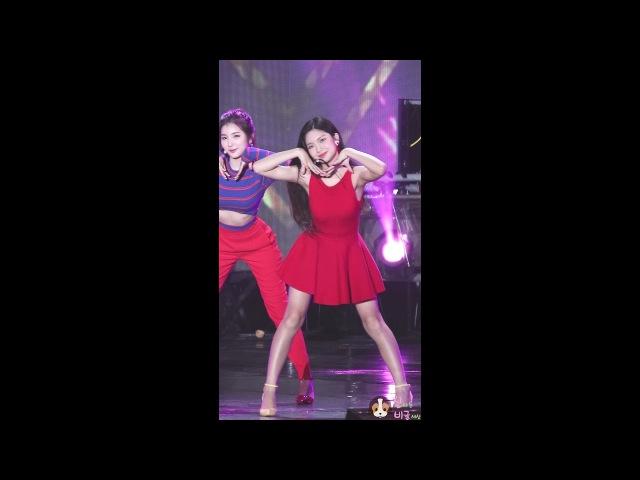 [60f] 170722 엘리스 (ELRIS) 벨라 (Bella) - So hot 쏘핫 (Original by Wondergirls) @THE SHOW보령머드축제 By 신비글
