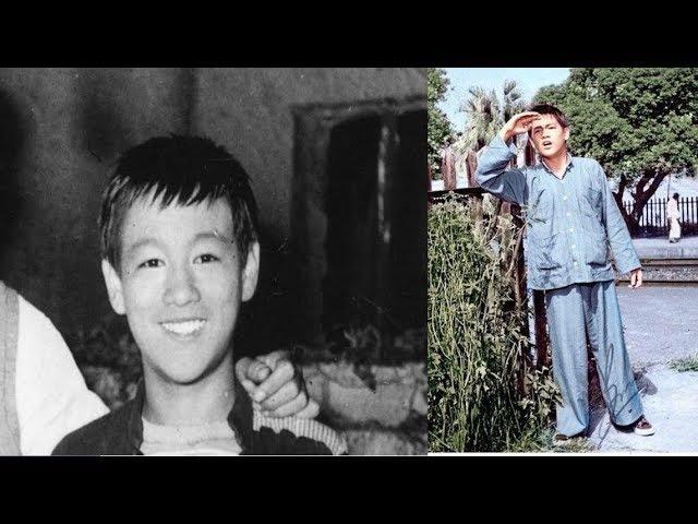 Брюс Ли в возрасте 15 лет. В фильме Трагедия сироты (1955)