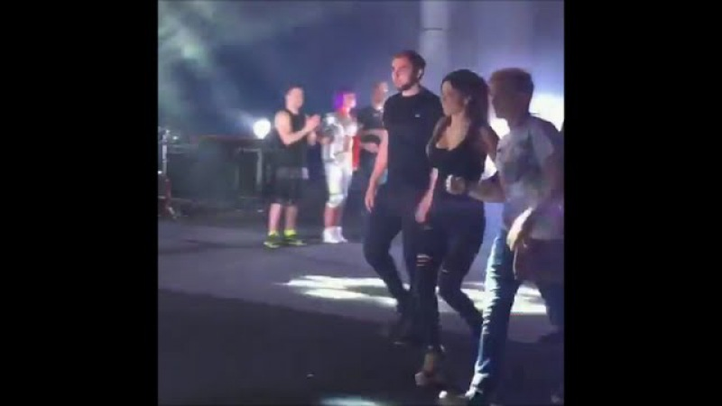 Ани Лорак на концерте Сергея Лазарева убегает к нему в гримерку 06 08 2016г Олимп, Ге...