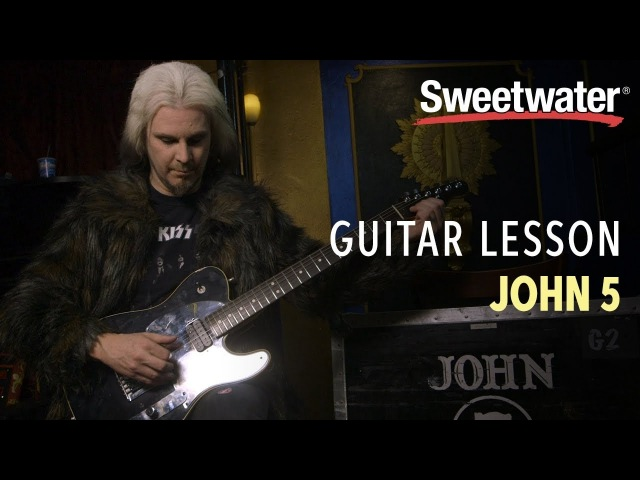 John 5 Guitar Lesson — Tuning and Bending Tips and Tricks