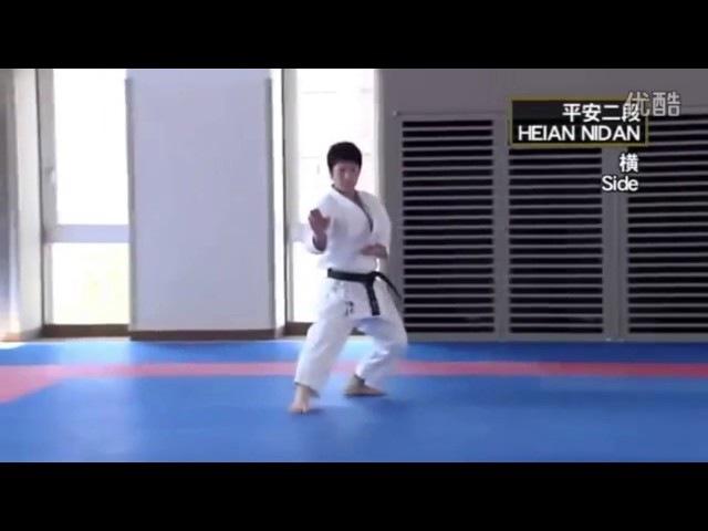 HEIAN NIDAN (Masao Kagawa , Takato Soma) _ Shotokan Karate Kata