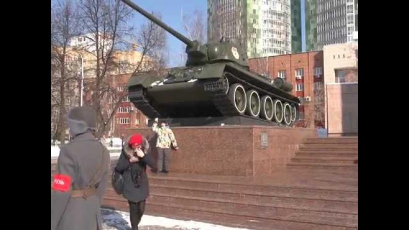 В Перми отметили 75-летие Уральского добровольческого танкового корпуса