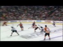 Mike Richards destroys/hits David Booth