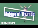 Just Dance 2018: Thumbs by Sabrina Carpenter | Behind The Scenes