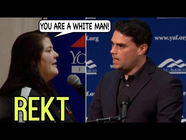 """Don't Tell Women What To Choose, You're a WHITE MAN"" Ben Shapiro OBLITERATES SJW On Abortion"