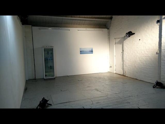 Theo Burt installation @ Rough House Glasgow International 2016