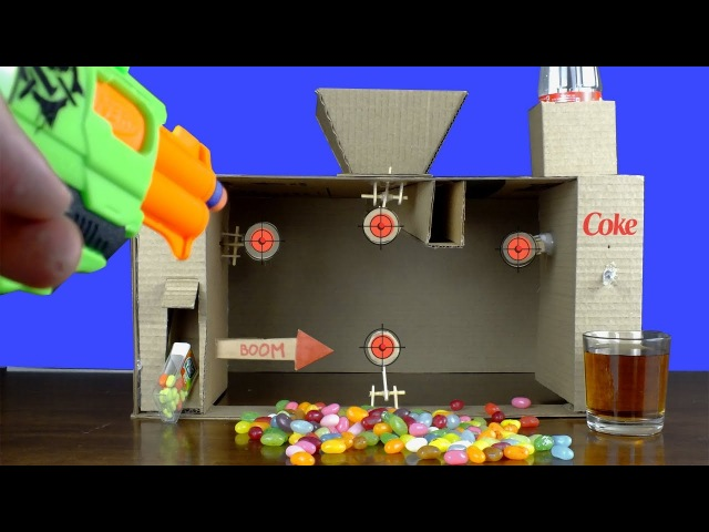 How To Make Cardboard Target Shooting Game Win a Prize