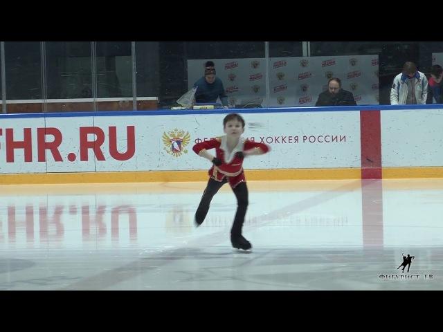 Герман Ленков на показательных Кубка Мишина 2018