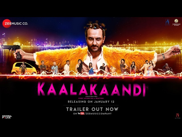 Kaalakaandi | Official Trailer | Saif Ali Khan | Akshat Verma | January 12