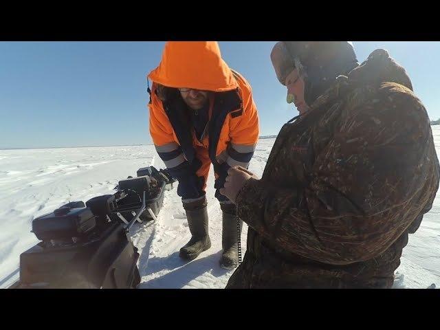 Рыбалка на судака. Кубассы. Сломалась мото-собака посередине Камы ( присутствует мат )