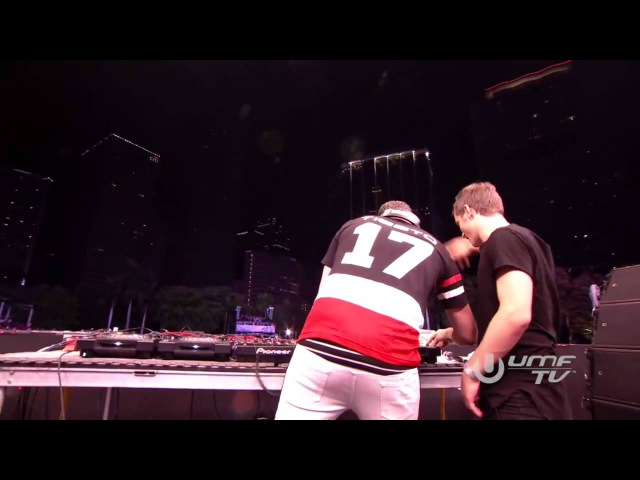 Martin Garrix Tiësto - The Only Way Is Up Live at Ultra Music Festival 2015
