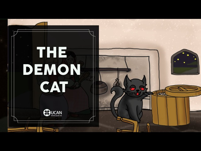 Learn English Listening | English Stories - 51. The Demon Cat