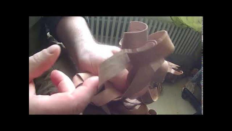 береста пинетка оформить носок