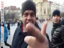 В Праге россияне напали на участников акции в поддержку Украины