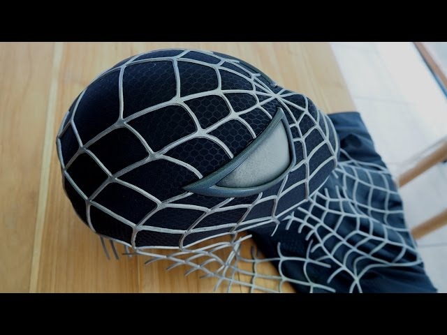 Creating the Spider-Man Black Suit Symbiote Mask