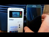 Smart Phone EMF Demonstration, 4G on vs 4G off
