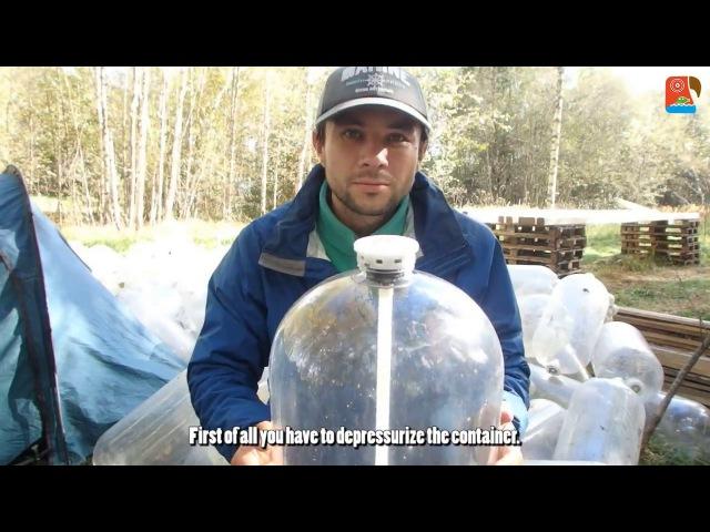 Строительство катамарана из ПЭТ кег Пластиковые бутылки Plastic kegs