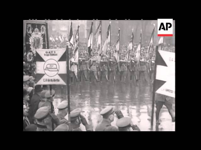 BERLIN SEES PARADE OF STEEL HELMETS - SOUND