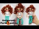 Amigurumi muñeca moderna adolescente parte 3 4