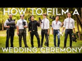How To Film a Wedding Ceremony  Job Shadow