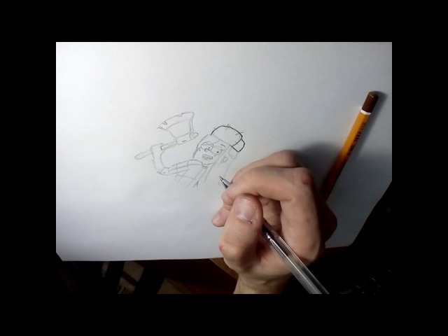 рисуем Венди из Гравити Фолз/Draw Wendy from Gravity falls
