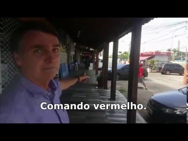 Menores do Comando Vermelho Tentaram Intimidar Bolsonaro!!
