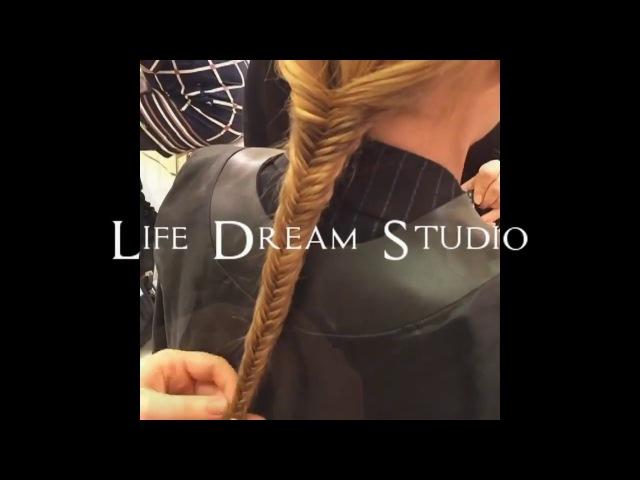 Прически Укладки волос тренды 2018 кудри локоны от Life Dream Studio