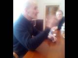 Пётр Мамонов в реабилитационном центре