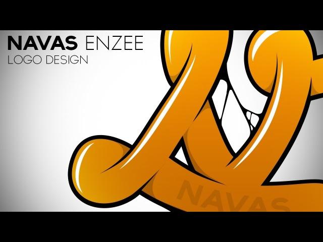 Swerve™ Graphic designer Speedart | Navas Enzee Logo Design by Swerve Designs