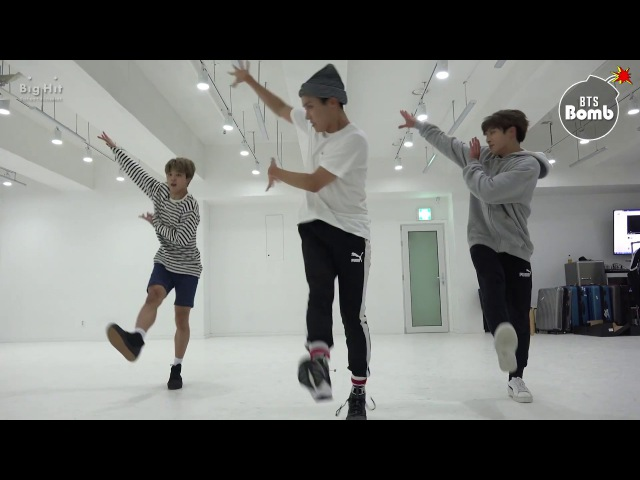 [BANGTAN BOMB] 613 BTS HOME PARTY Practice - Unit stage 삼줴이(3J) - BTS (방탄소년단)