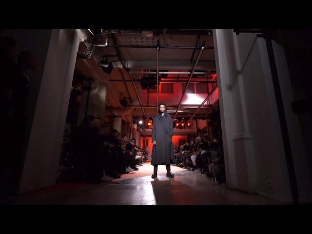 Yohji Yamamoto pour homme A W18 19 Show Footage 4K version