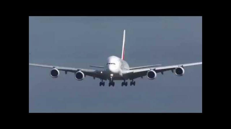 Сложная Посадка Самолёта в Сильный Ветер