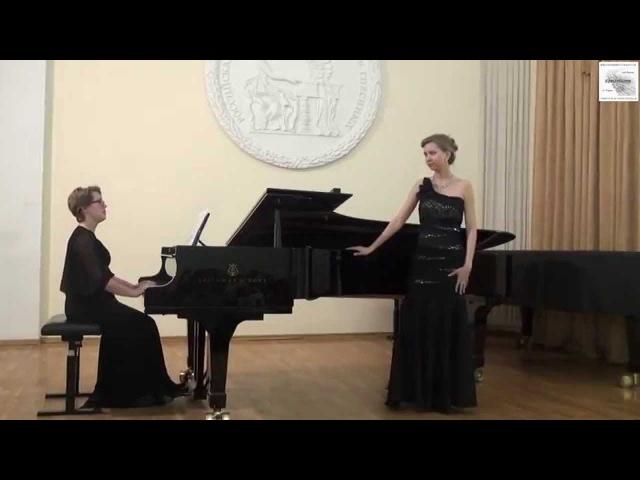Дж.Б.Перголези. Г.Ф.Гендель. К. Довидайтис (меццо-сопрано) Е.Кутонова(фортепиано)