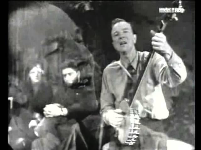Pete Seeger, Where Have All The Flowers Gone/Sag' mir wo die Blumen sind, Berlin, DDR (GDR), 1967