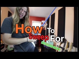 How To Sweep Pick For Beginners ( WITH TABS)