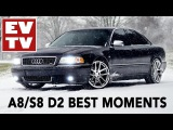 Best AUDI A8S8 D2 moments!Quattro Family Nation