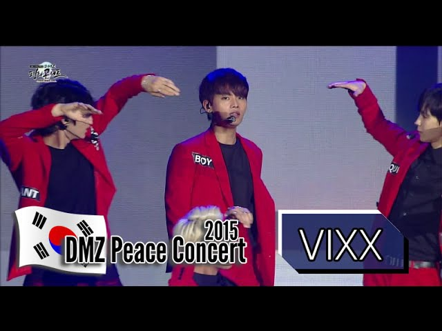VIXX - ETERNITY, 빅스 - 기적, 2015 DMZ Peace Concert1 20150814